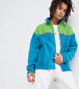Reclaimed Vintage Inspired Fleece In Blue
