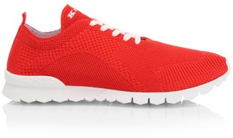 Kiton Contrast Sole High Tech Sock Sneakers