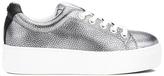 Kenzo Women's KLace Low Top Trainers - Silver