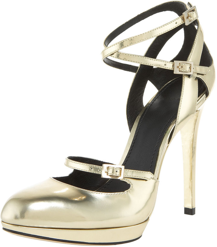 Brian Atwood Convertible Strappy Pump
