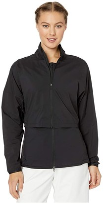 Nike Repel Ace Jacket 3-in-1 Full Zip (Black/Black/Black/Black) Women's Clothing