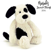 Jellycat Bashful Black & Cream Puppy - Large