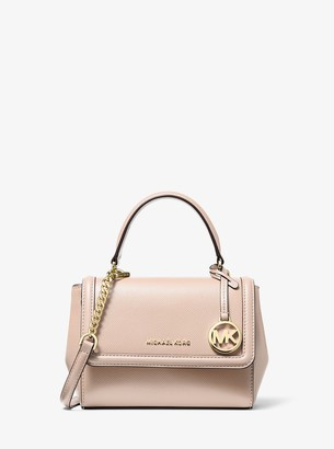 MICHAEL Michael Kors Jet Set Extra-Small Crossgrain Leather Crossbody Bag