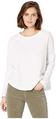 Alternative Vintage Thermal Ramble Tunic (White) Women's Clothing