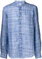 Xacus mandarin collar shirt
