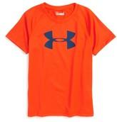 Under Armour Boy's Big Logo Heatgear T-Shirt