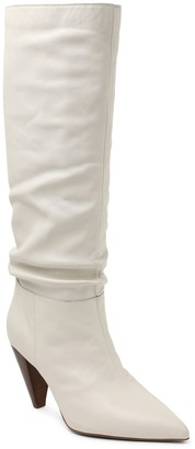 Kensie Tall Leather Slouch Boots - Kalani