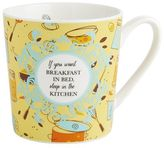 Pier 1 Imports Breakfast in Bed Mug