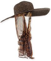 Kokin Macassar Convertible Sun Hat with Chin Tie
