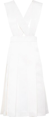 Miu Miu Gabardine Midi Dress