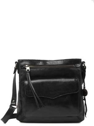 The Sak Ventura Leather Flap Crossbody Bag