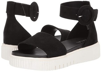 Mia Rosanna (Black Nova Suede) Women's Sandals