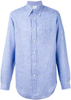 Brooks Brothers Milano shirt - men - Linen/Flax - M