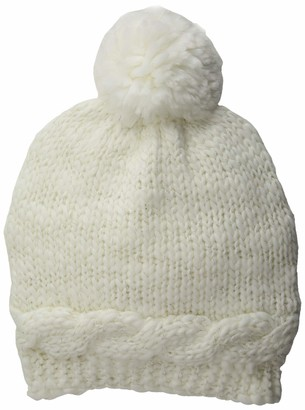 Collection XIIX Women's Cable Knit Hat with Shine