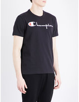 Champion Brand-logo Cotton-jersey T-shirt