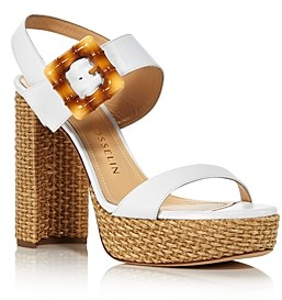 Chloe Gosselin Amber High-Heel Platform Sandals