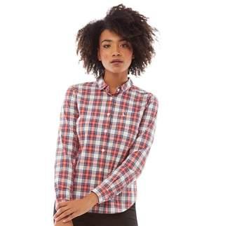 Jack Wills Womens Homefore Check Shirt Red