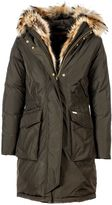 Woolrich Hooded Military Parka