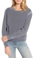 Stateside Women's Lace Trim Sweatshirt