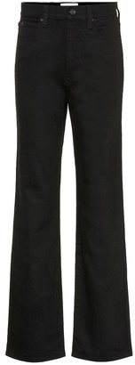 SLVRLAKE Kick Flare high-rise jeans
