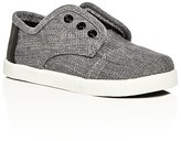 Toms Boys' Paseo Velcro Strap Sneakers