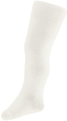 Monsoon Girls Frosted Sparkle Tights - Ivory