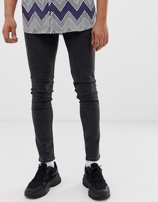 Cheap Monday tight skinny jeans in key black
