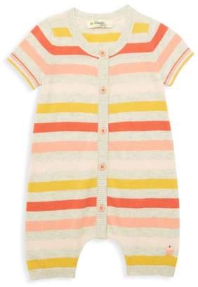 The Bonnie Mob Baby Girl's Lazy Hazy Summer Days Organic Cotton Knit Romper
