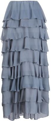 Soallure Ruffle Timing Full Skirt