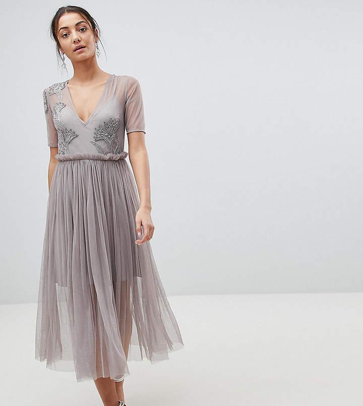 cb1f1dcd325c Deep Plunge Dress Midi - ShopStyle