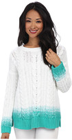 Tommy Bahama Carmel Cable Ombre Pullover