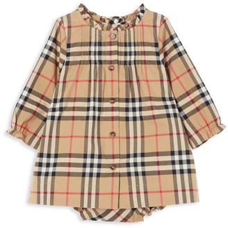 Burberry Baby Girl's Marissa Check Print Dress