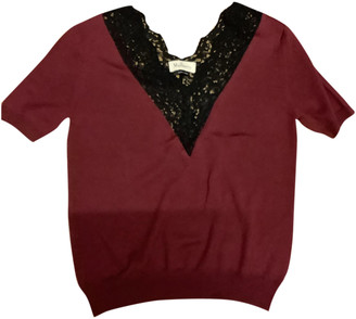 Mulberry Burgundy Wool Knitwear