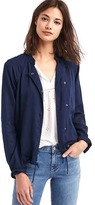 TENCEL drapey drawstring jacket