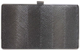 Sondra Roberts Metallic Wave Box Clutch