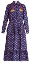 Gucci Polka-dot print silk dress