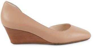 Cole Haan Edith Leather Wedge Heels