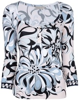 Emilio Pucci paisley print top