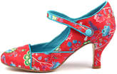 I Love Billy Minkie Red print Shoes Womens Shoes Casual Heeled Shoes