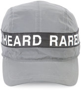Mostly Heard Rarely Seen logo print cap