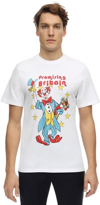 Martine Rose Clown Artwork Print Jersey T-Shirt