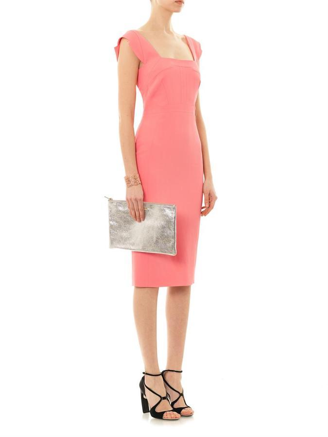 Antonio Berardi Sleeveless square-neck dress