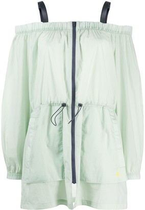 Nike Jordan Utility off-shoulder jacket