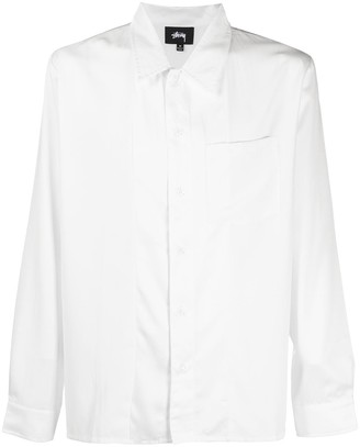Stussy Loose-Fit Satin Shirt