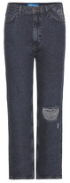 MiH Jeans Jeanne high-rise distressed jeans