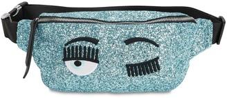 Chiara Ferragni Glittered Belt Bag