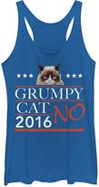 Fifth Sun Women's Tank Tops ROY - Grumpy Cat '2016 No' Tank - Women & Juniors