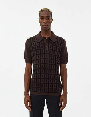 Fred Perry Archive Grid Knit Shirt