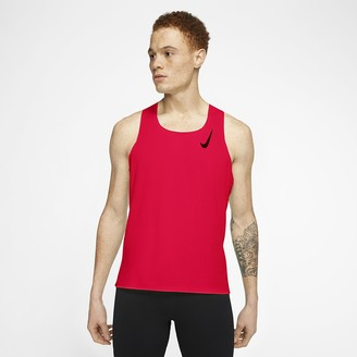 Nike Men's Running Singlet AeroSwift