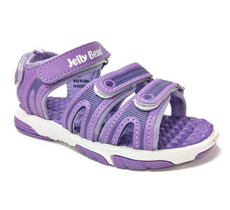 Jelly Beans Girls' Sandals PURPLE - Purple Rapid Sandal - Girls